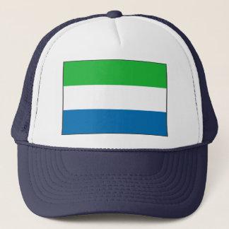 シエラレオネの旗の帽子 キャップ