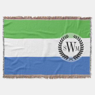 シエラレオネの旗 スローブランケット
