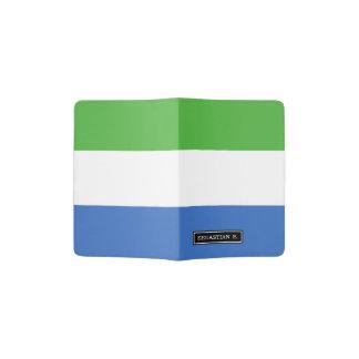 シエラレオネの旗 パスポートカバー