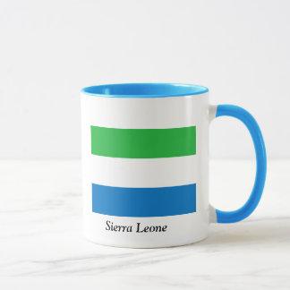 シエラレオネの旗 マグカップ