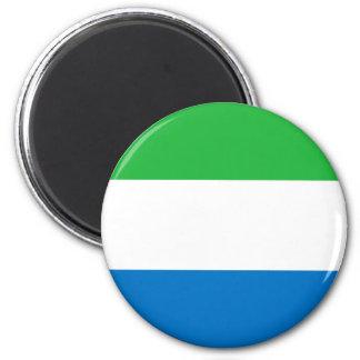 シエラレオネの旗 マグネット