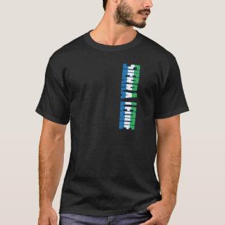 シエラレオネの旗 Tシャツ