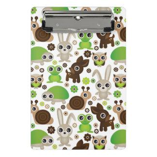 シカのカメのバニー動物の壁紙 ミニクリップボード