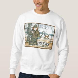 シカのハンターのワイシャツ、弓季節 スウェットシャツ