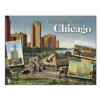 シカゴからの挨拶 ポストカード