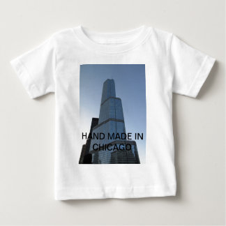シカゴでハンドメイド ベビーTシャツ