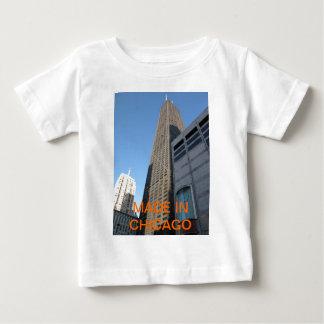 シカゴで作られる ベビーTシャツ