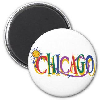 シカゴと日曜日---子供 マグネット
