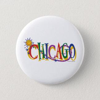 シカゴと日曜日---子供 缶バッジ
