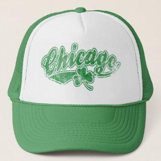 シカゴのアイルランド人のシャムロック キャップ