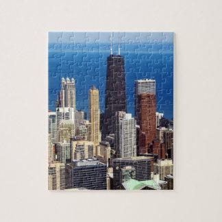 シカゴのスカイラインおよび陸標 ジグソーパズル