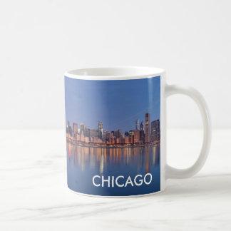 シカゴのスカイラインのコーヒーカップ コーヒーマグカップ