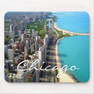 シカゴのスカイラインのマウスパッド マウスパッド