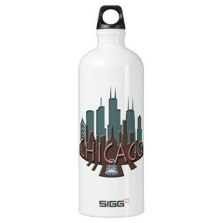 シカゴのスカイラインのnewwaveチョコレート ウォーターボトル