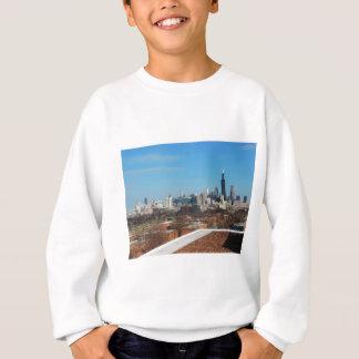 シカゴのスカイライン スウェットシャツ