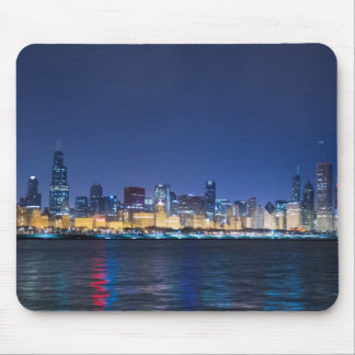 シカゴのスカイライン マウスパッド
