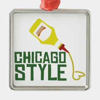 シカゴのスタイル メタルオーナメント