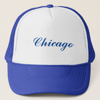 シカゴのトラック運転手の帽子 キャップ