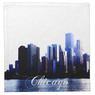 シカゴのナプキン ナプキンクロス