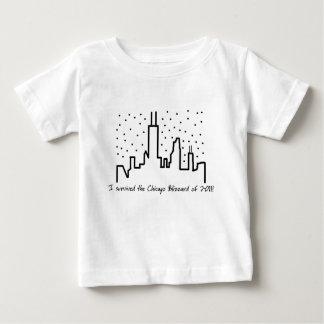 シカゴのブリザード2011年-ベビーのTシャツ ベビーTシャツ