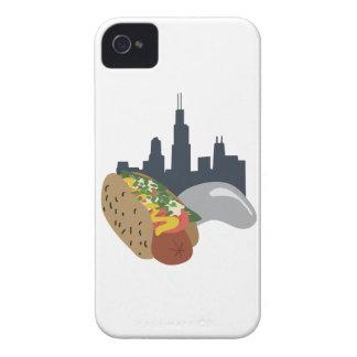 シカゴのホットドッグ Case-Mate iPhone 4 ケース