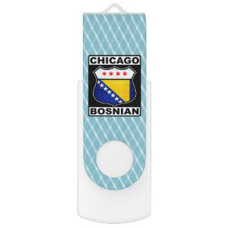 シカゴのボスニアのアメリカの抜け目がないドライブ USBフラッシュドライブ