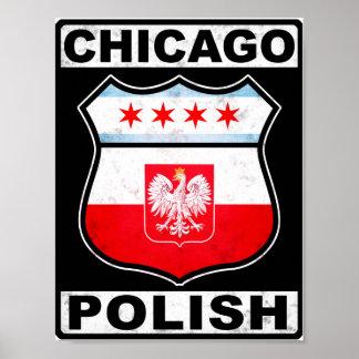 シカゴのポーランドのアメリカ人 ポスター