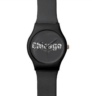 シカゴのマフィアの歴史のボスの射撃の穴の印 腕時計