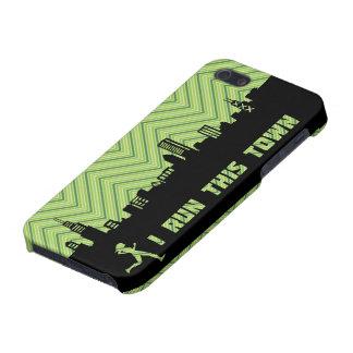 シカゴのランナー- Iはこの町の緑のiPhoneの場合を走ります iPhone SE/5/5sケース