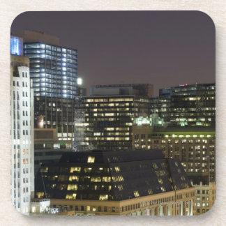 シカゴのループの建物の空中写真の コースター