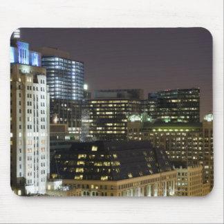 シカゴのループの建物の空中写真の マウスパッド