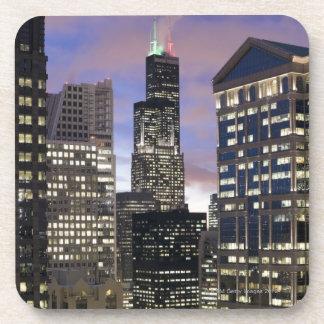 シカゴのループの建物の空中写真、 コースター