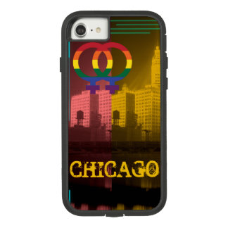 シカゴのレズビアンの興味のカラフルなプライドのゲイ Case-Mate TOUGH EXTREME iPhone 8/7ケース