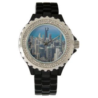 シカゴの上 腕時計