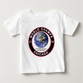 シカゴの世界のチャンピオン ベビーTシャツ