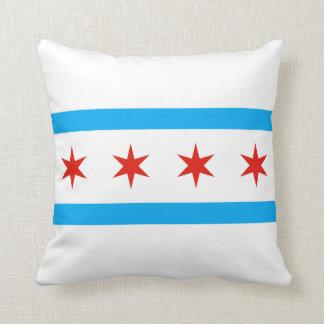 シカゴの伝統的な旗 クッション