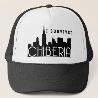 シカゴの冬別名ChiBeria キャップ