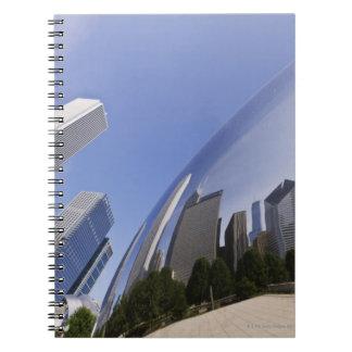 シカゴの反射 ノートブック
