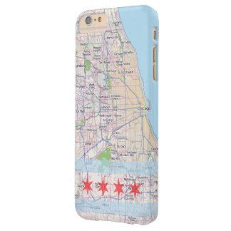 シカゴの地図の旗 BARELY THERE iPhone 6 PLUS ケース