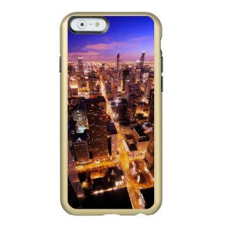 シカゴの夜の都市景観 INCIPIO FEATHER SHINE iPhone 6ケース