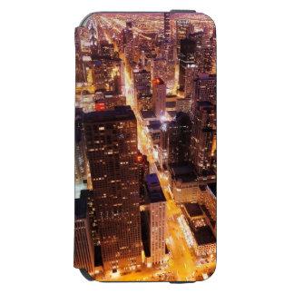 シカゴの夜の都市景観 INCIPIO WATSON™ iPhone 5 財布型ケース