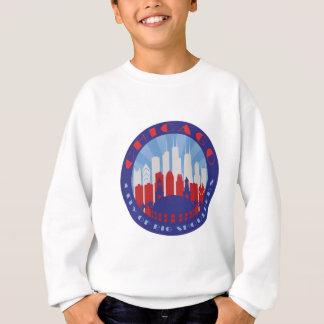 シカゴの大きい肩の愛国者 スウェットシャツ