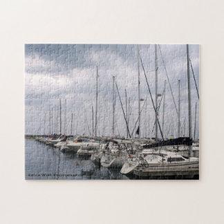 シカゴの帆ボート ジグソーパズル