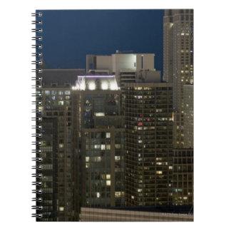 シカゴの建物の空気の全景 ノートブック