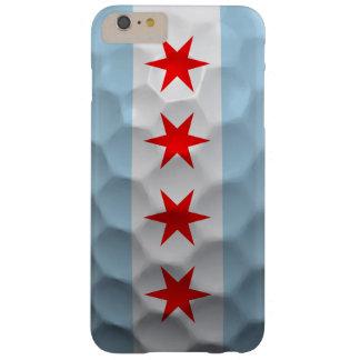 シカゴの旗のゴルフ・ボールパターン BARELY THERE iPhone 6 PLUS ケース