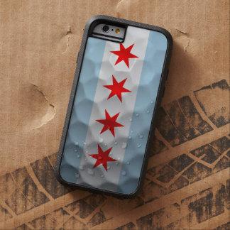 シカゴの旗のゴルフ・ボールパターン TOUGH XTREME iPhone 6 ケース