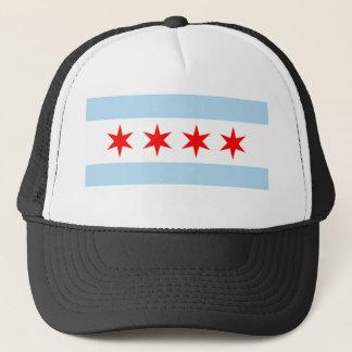 シカゴの旗のトラック運転手の帽子 キャップ
