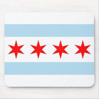 シカゴの旗のマウスパッド マウスパッド