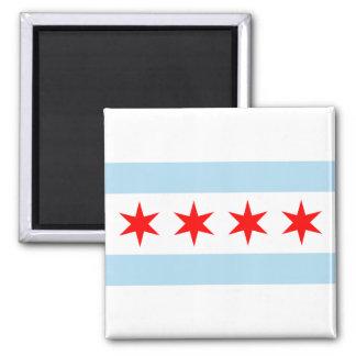 シカゴの旗の磁石 マグネット