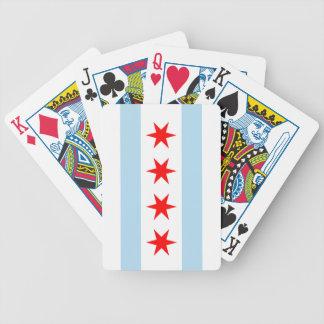 シカゴの旗のBicycle®のトランプ バイスクルトランプ
